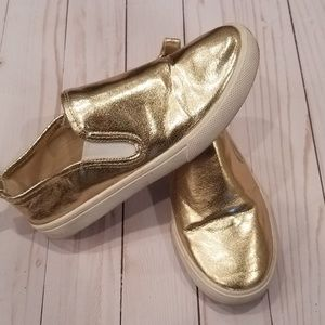 GAP Metallic Gold sneakers